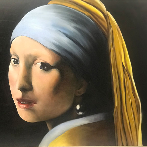 Vermeer`s girl with the pearl earring